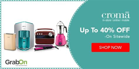 Hdfc Bank Credit Card Offers At Croma Croma Coupons Offers 70 Off Sale Extra Rs Grabon