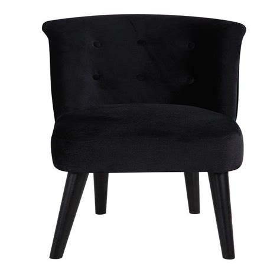 Crosier Plush Barrel Chair