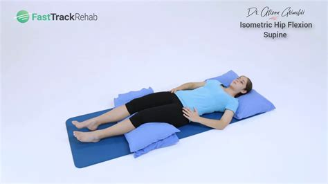 cross country hip flexor test in prone position