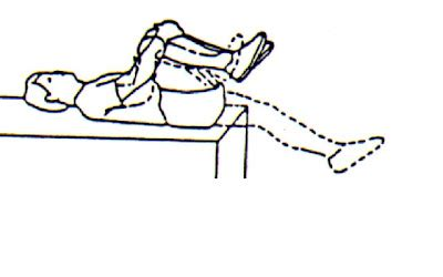 cross country hip flexor test in prone position shooting