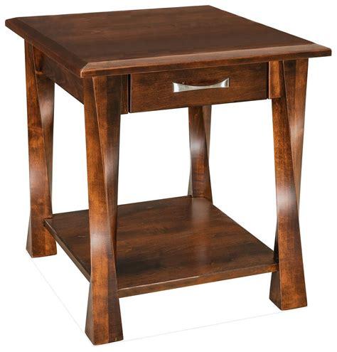 Crossett X-Leg End Table