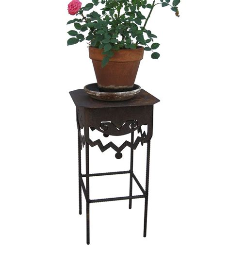 Crown Square Plant Stand