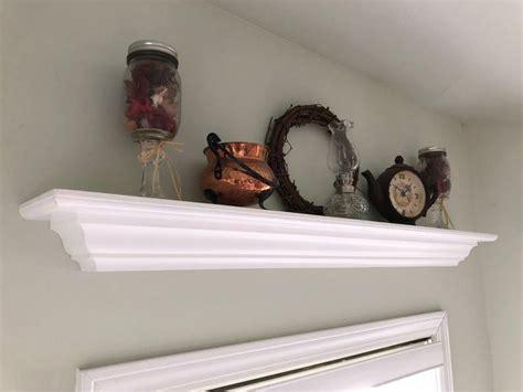 Crown Moulding Shelves
