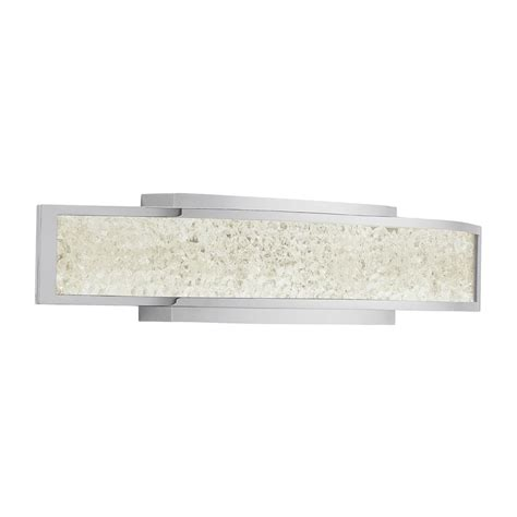 Crushed Ice™ 1-Light LED Bath Bar