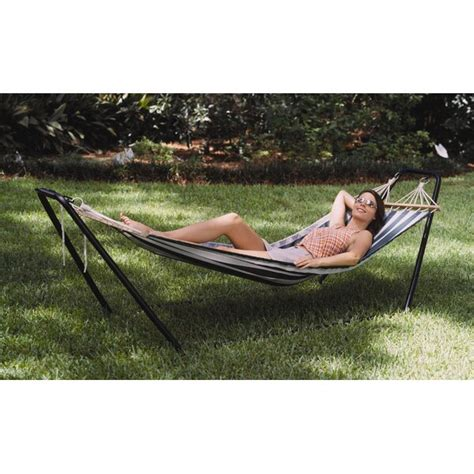 Crystal Bay PVC Hammock with Stand