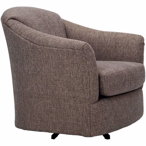 Cuellar Swivel Barrel Chair