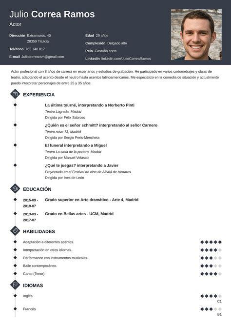 Curriculum Vitae Word 2013 Descargar Ejemplo De Curriculum Vitae En Word