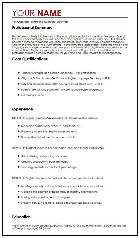 curriculum vitae template libreoffice free sample letters cover letters and cv templates