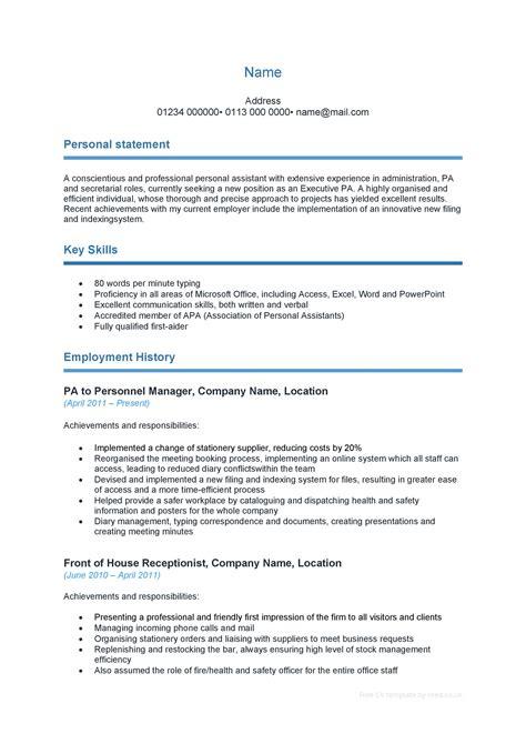 Curriculum Vitae Template Dentist Sample Templates
