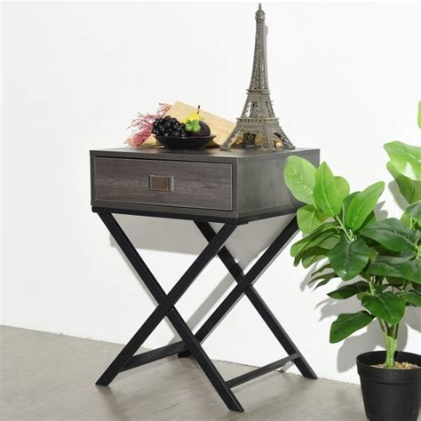 Currin End Table With Storage