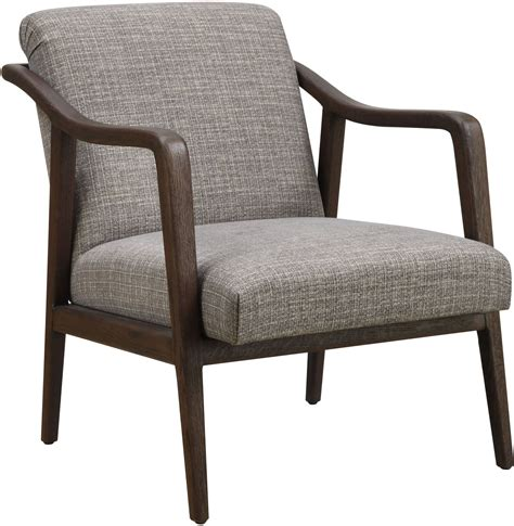 Curry Wood Framed Side Chair