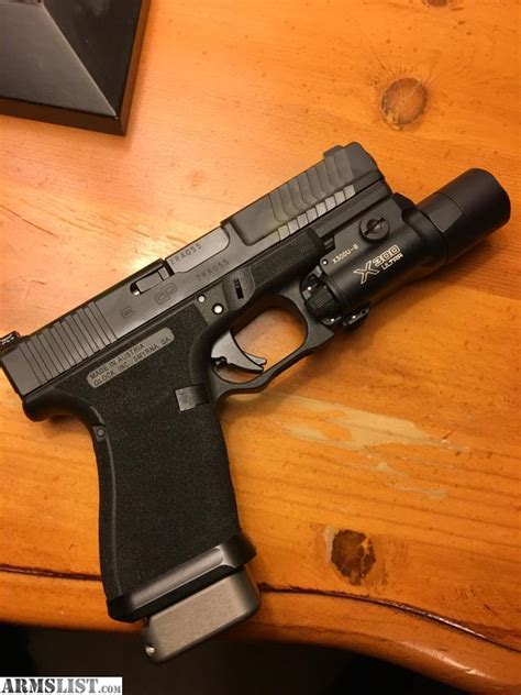 Glock-19 Custom Glock 19 Gen 4 For Sale.