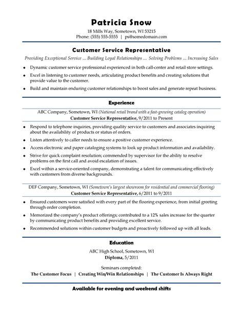 resume customer service skills list customer service resume template job interviews - List Of Customer Service Skills For Resume
