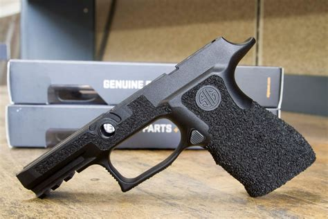 Sig-P320 Cutting A Sig P320 Compact Grip.