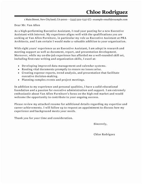 cover letter ending examples