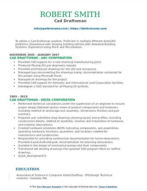 drafter resume sample autocad cv sample woltrancom nearr