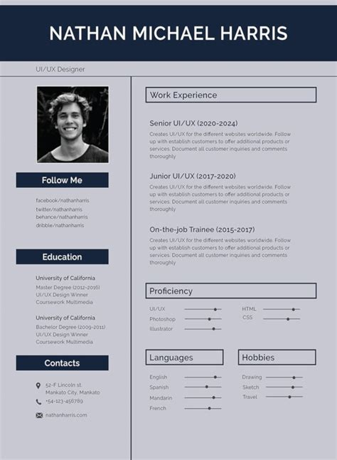 Cv Format Pdf Download Free The Pdf Version Of This Cv Template Is A Learningteaching