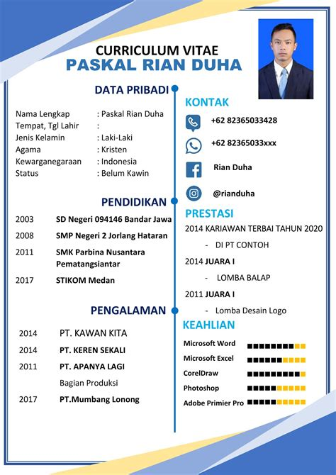 Cv Lamaran Kerja English Professional Cv Writers In Dubai