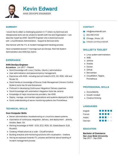 resume build release engineer cv resume build and devops engineer dons blog - Build And Release Engineer Sample Resume