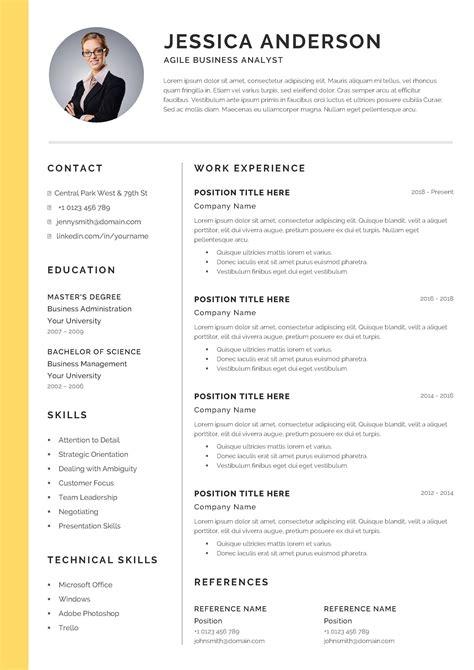 cv resume title means download professional resume format