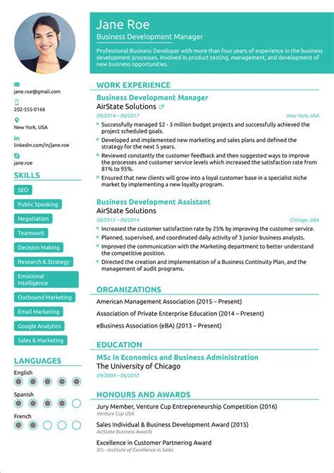 Cv Resume For Scholarship Online Resume Generator Free Cv Builder