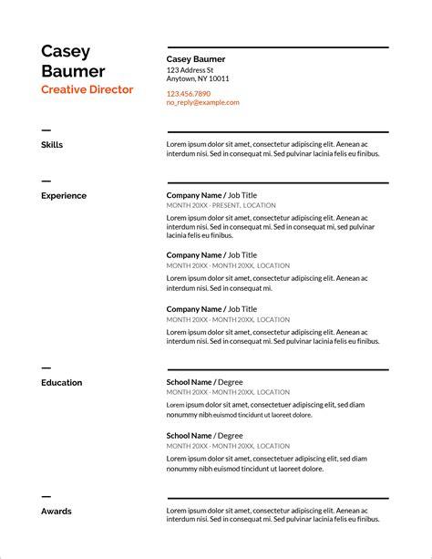 Doc          Blank Resume Templates Microsoft Word   BizDoska com