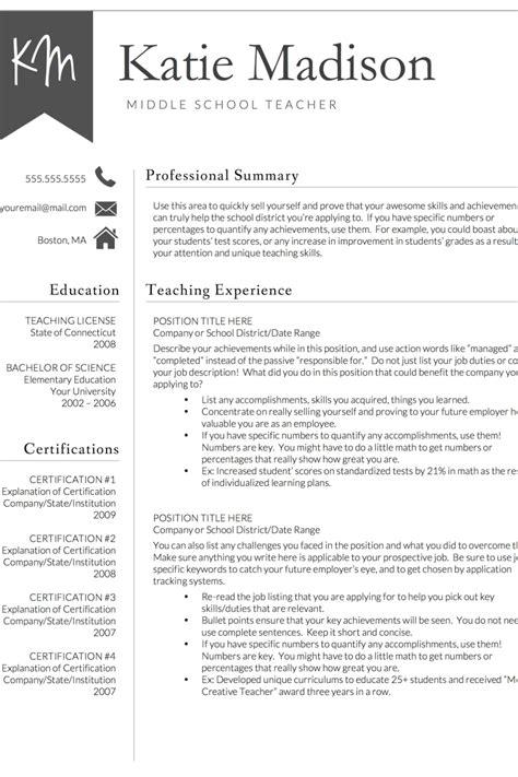 cv template free teacher best 25 teacher resume template ideas on pinterest. Resume Example. Resume CV Cover Letter