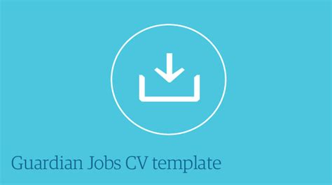 Cv template free guardian image collections certificate design guardian careers cv template choice image certificate design and yelopaper Image collections