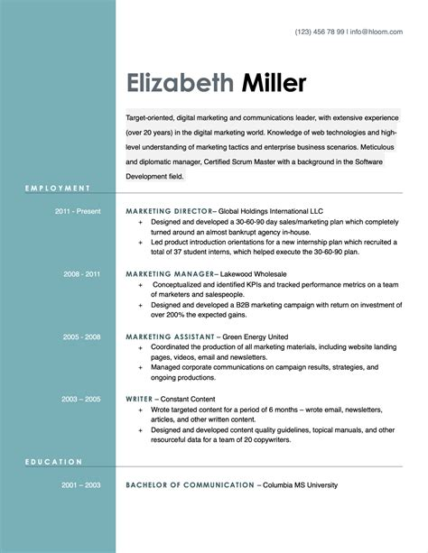 cv templates open office openoffice resume template apache openoffice templates
