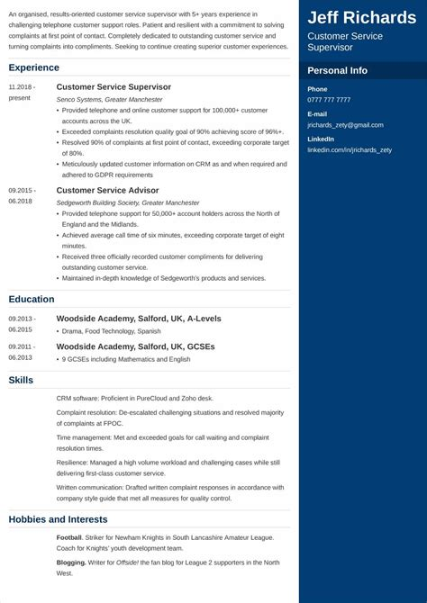 examples of resumes objectives resume reference Really love the interests  section how it is icons shows