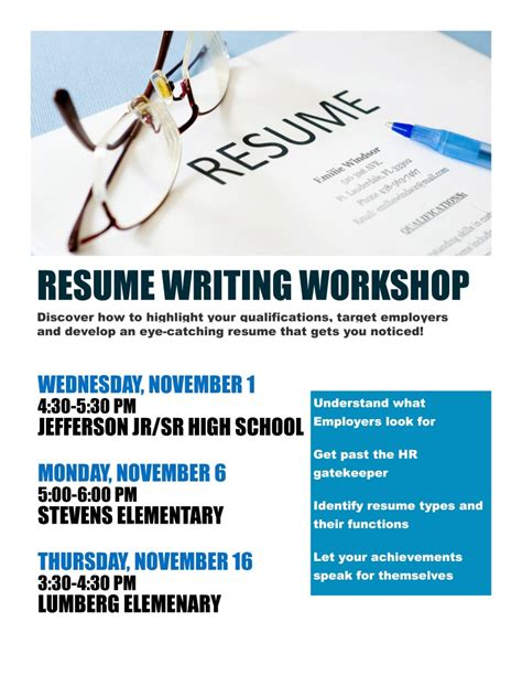 Cv Writing Course Resume Writing Workshop Online Courses And Certification