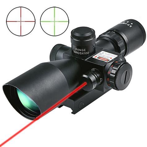 Rifle-Scopes Cvlife 2.5 10x40 Tactical Rifle Scope.