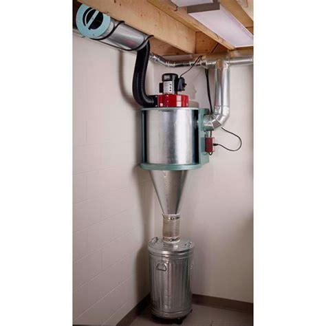 Cyclone Dust Collector Woodworking Plan