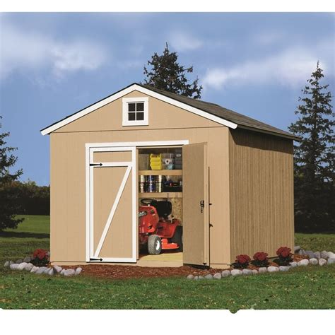 cypress 12 ft x 10 ft wood storage shed plans