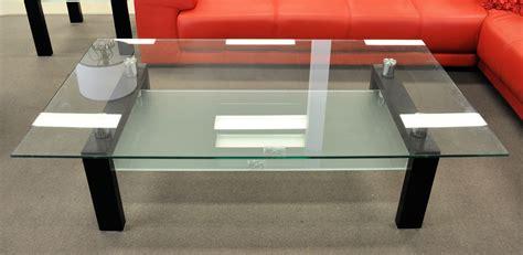 Dania Glass Coffee Table