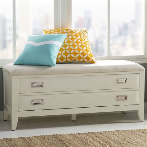 Darrow Upholstered Storage Bench