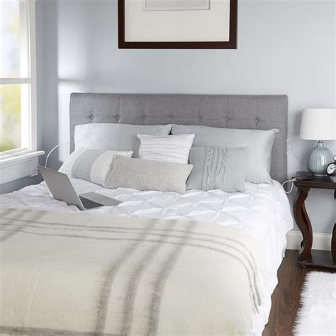 Dartmoor Tufted Powered Upholstered Panel Headboard by Red Barrel Studio