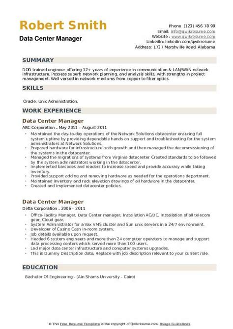 sample resume for mainframe project manager dot to dot