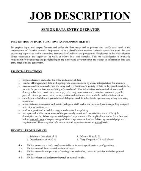 data entry resume responsibilities data entry job description job interviews - Data Entry Job Description For Resume