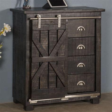 Daub 4 Drawer 1 Sliding Door Cabinet