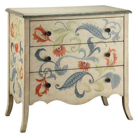 Dauphin Hand Painted 3 Drawer Chest