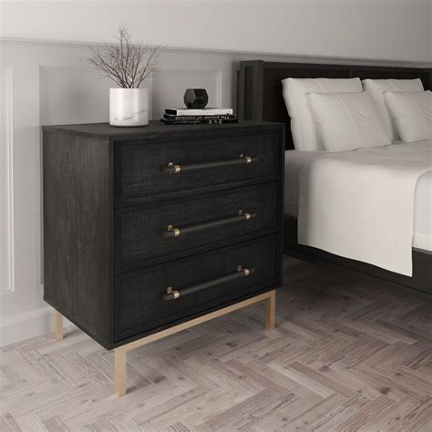 Dauwe 3 Drawer Chest