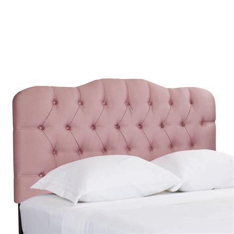 Davina Shantung Arch Upholstered Panel Headboard