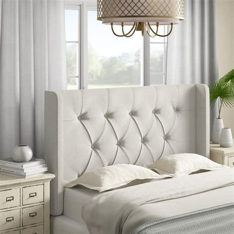 Davina Upholstered Wingback Headboard