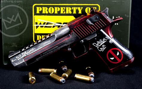 Desert-Eagle Deadpool Desert Eagle.