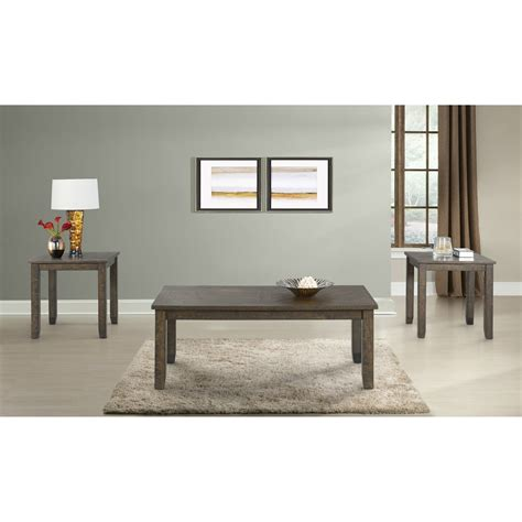 Dearing Occasional 3 Piece Coffee Table Set