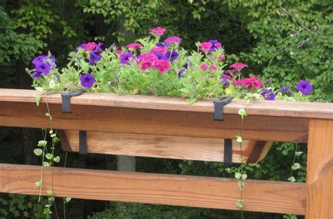 deck flower boxes lowes
