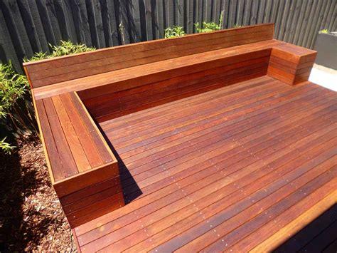 Deck Bench Diy