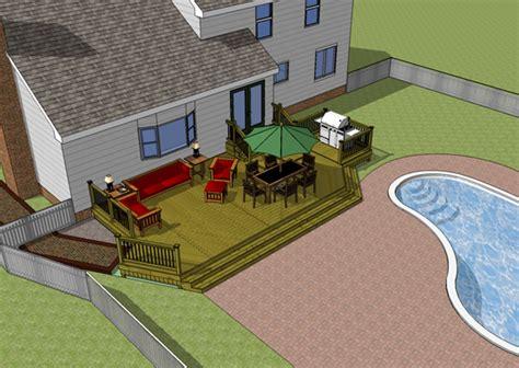Deck Design In Sketchup
