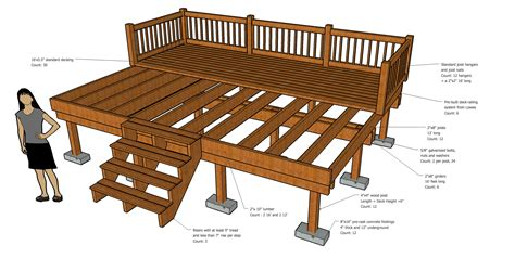 Deck Design Measurements